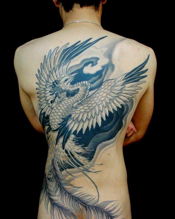 Beautiful Phoenix Tattoo Designs 5