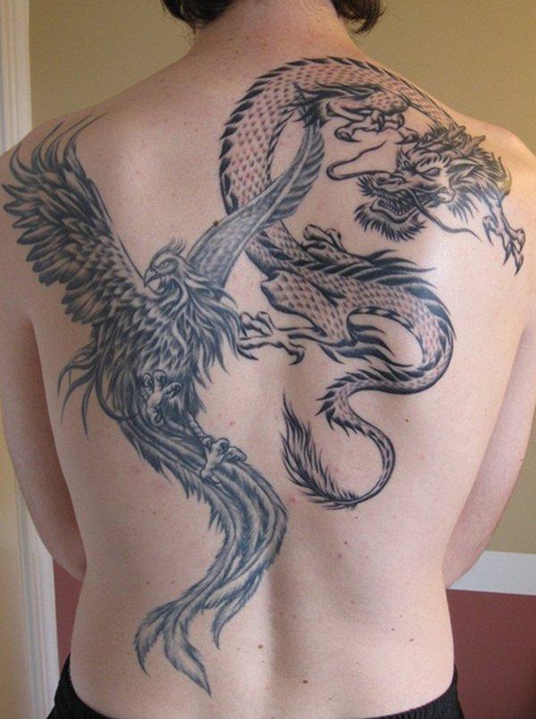 Beautiful Phoenix Tattoo Designs 8