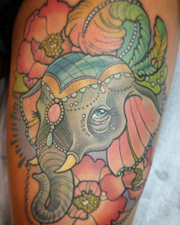 Best Elephant Tattoo Designs And Ideas 13