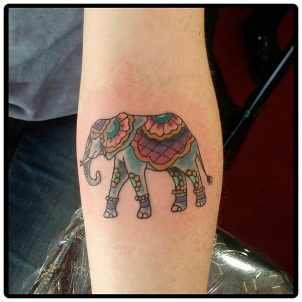 Best Elephant Tattoo Designs And Ideas 16