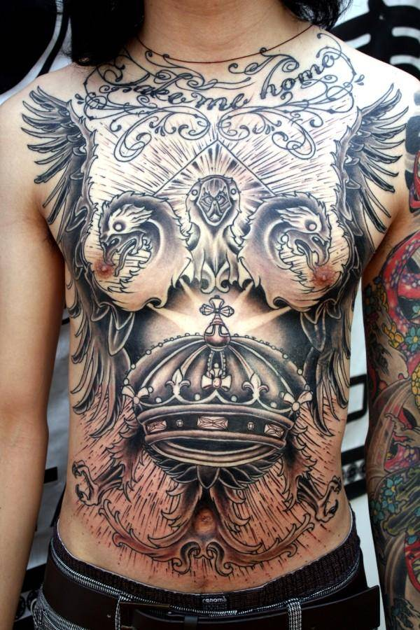 Breathtaking Foo Dog Tattoos for Inspiration 31