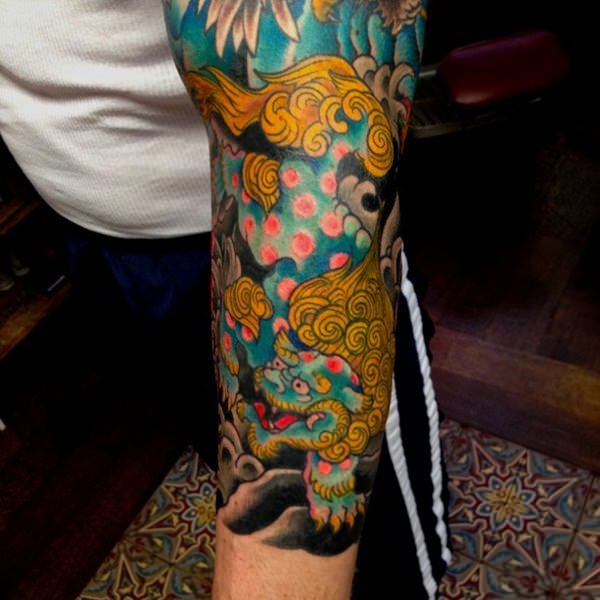 Breathtaking Foo Dog Tattoos for Inspiration