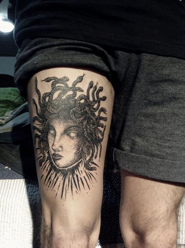 Extraordinary Medusa Tattoo Designs 13