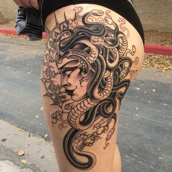 Extraordinary Medusa Tattoo Designs 16