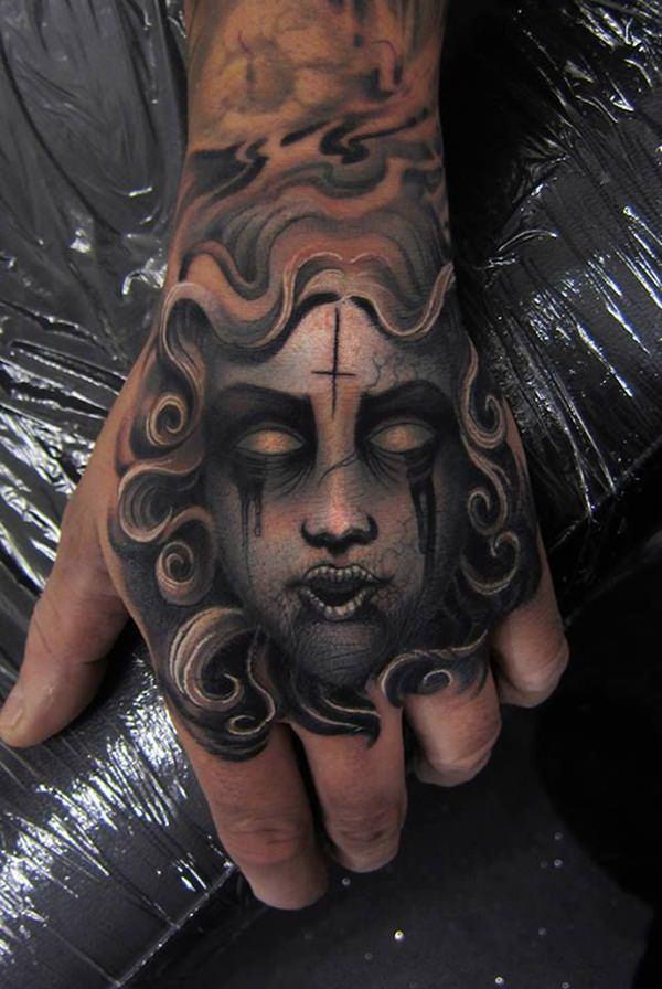 Extraordinary Medusa Tattoo Designs 26