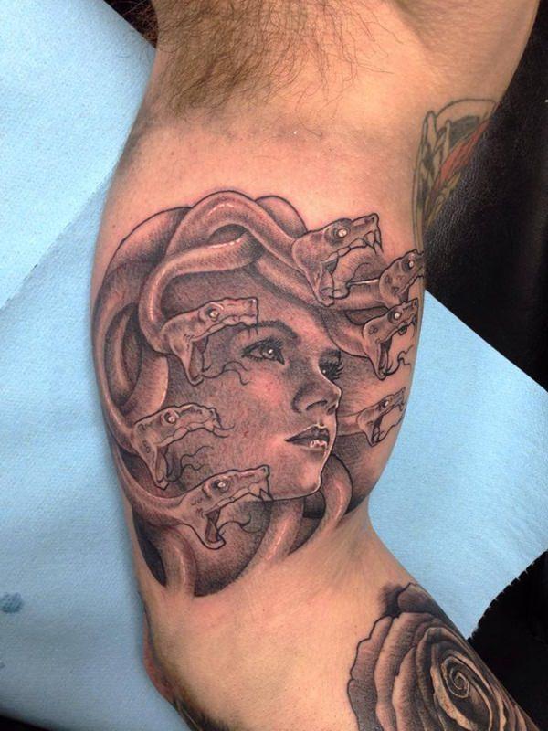 Extraordinary Medusa Tattoo Designs 28