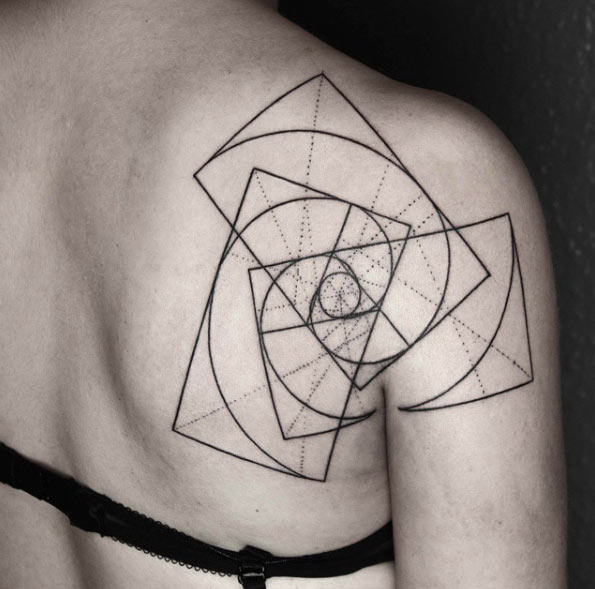 Geometric Tattoos Designs for Men and Women