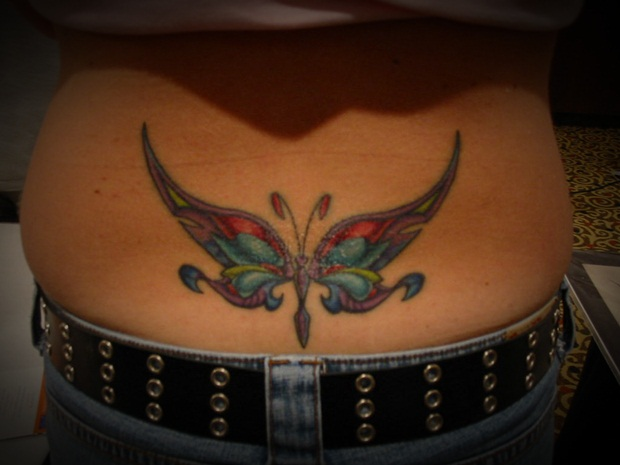 Lower Back Tattoos Designs and Ideas for Women