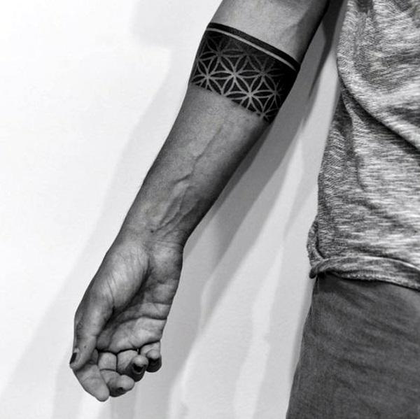 Masculine Armband Tattoos Designs for Men