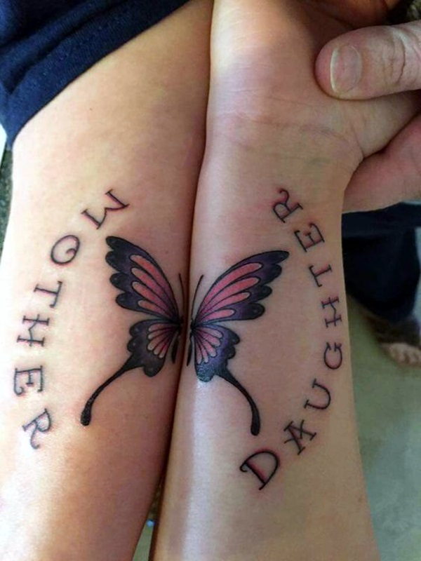 Soulful Mother Daughter Tattoos