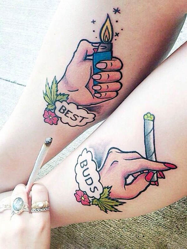 Unique Best Friend Tattoos
