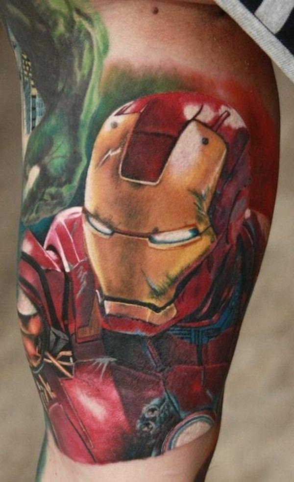 Best Ironman Tattoos Designs and Ideas