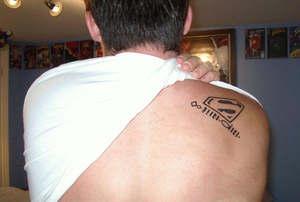 Superman Tattoo Designs and Ideas