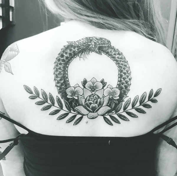 Ouroboros Tattoos Designs and Ideas