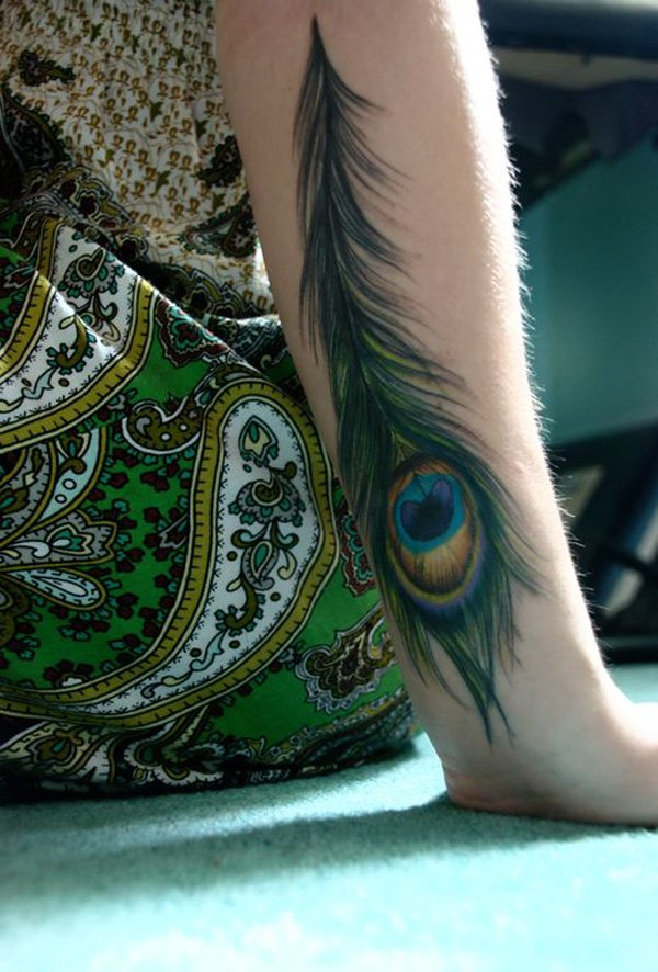 Outstanding Peacock Tattoos Designs and Ideas