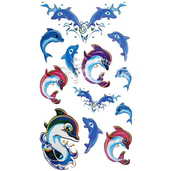 Dolphins Tattoos Ideas For Girls