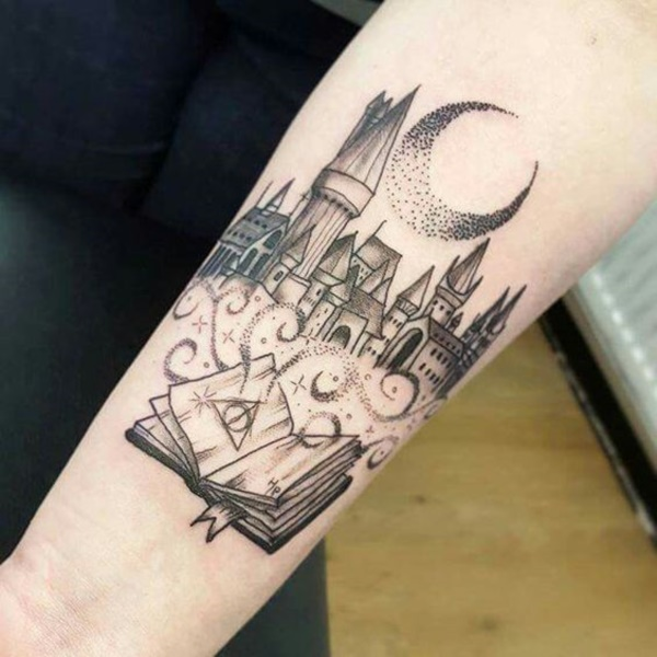 Magical Harry Potter Tattoo