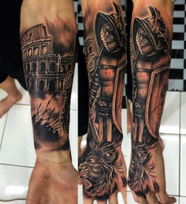 valiant gladiator tattoo